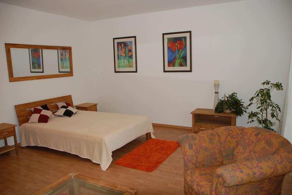 Wohn-und Schlafraum 2 Ferienwohnung