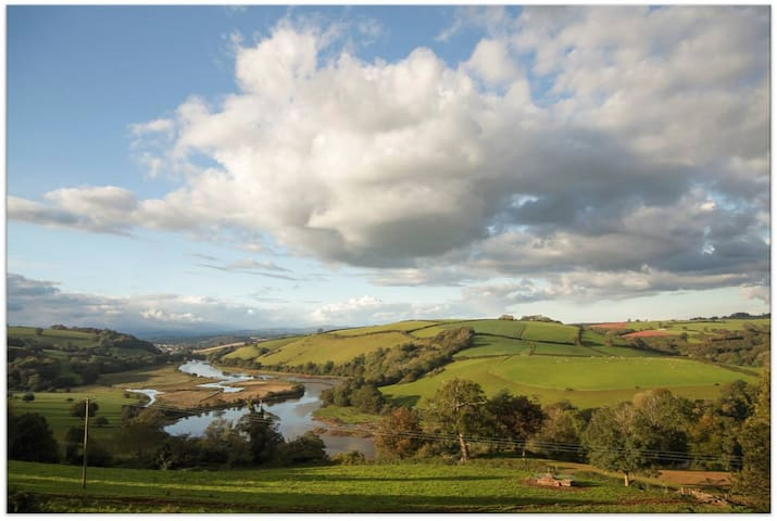 Lower Sharpham Farm Nature Lodge - Ashprington - ที่พักธรรมชาติ