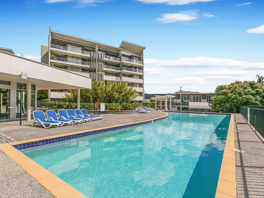 Quick Access To Brisbane Cbd Pool Gym Apartments For Rent In Bowen Hills Queensland Australia