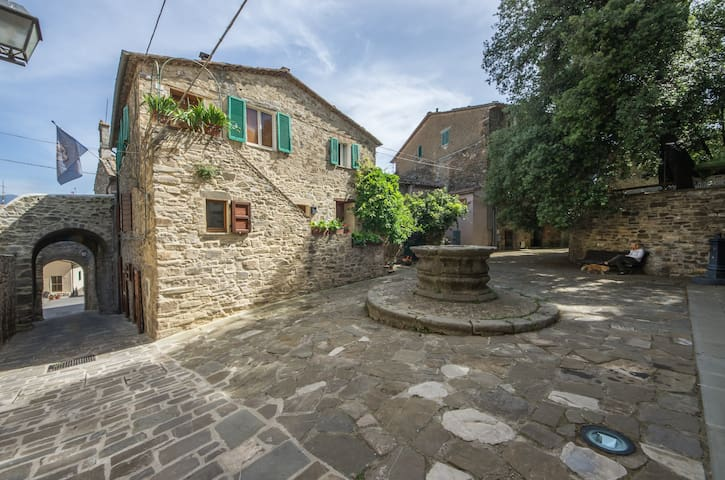 The Ancient Well House in Tuscany (3 bdr & WIFI) - Castel del Piano - Rumah