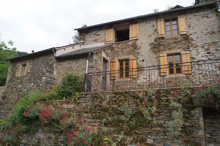 Maison de campagne rénovée au vert - Réquista - Dom