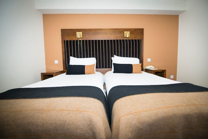 Cozy Double or Twin room heart of the city center