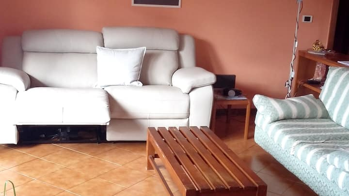 Apartment with 3 bedrooms in Angri, with wonderful city view and furnished balcony - 15 km from the beach