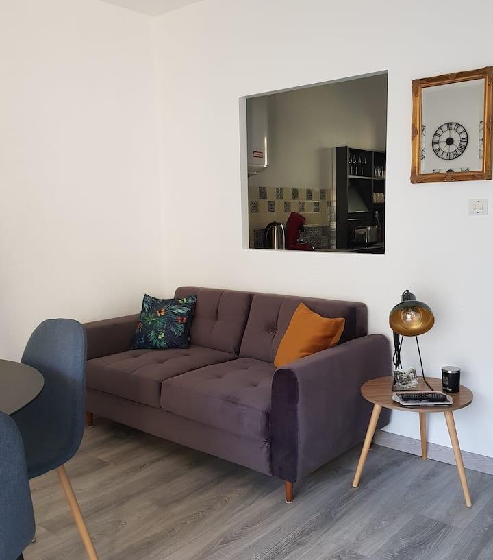 Studio de 35 m2 dans petite résidence calme