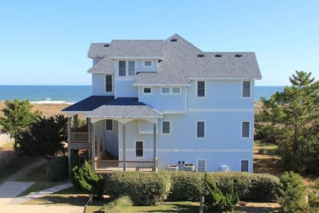 Oceanfront 8 bed 8 bath estate: CALL 669-BEACHES - Waves - Дом