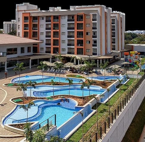 Apt Alta Vista Resort - Caldas Novas - 4 pessoas