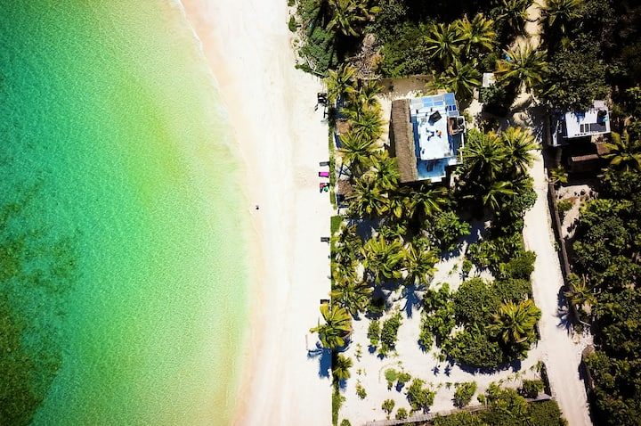 Calming Caribbean Beachfront's, Big Blue Balconies