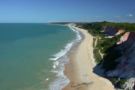 Arraial D'Ajuda aos seus pés - 5 min da praia