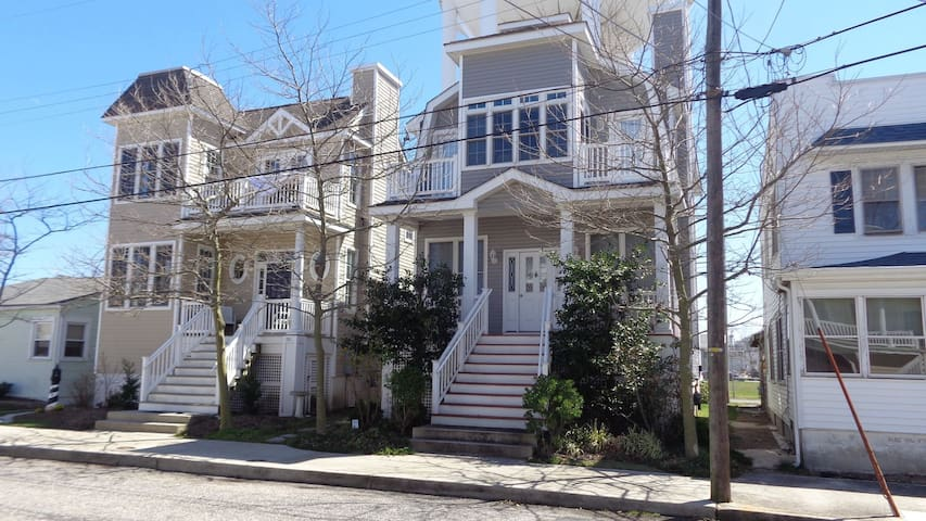 Single Family Home with 3 Bedrooms - Ocean City - Apartamento