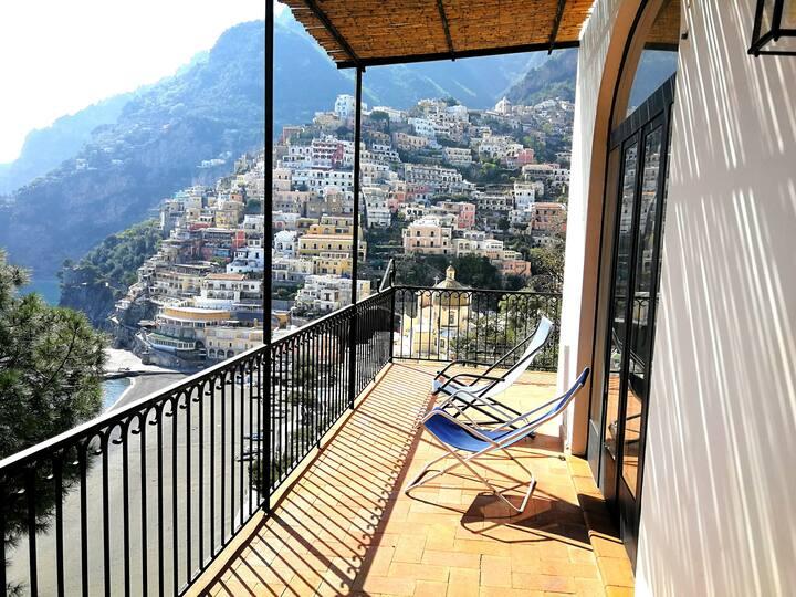 Appartamento in Villa, panorama da cartolina