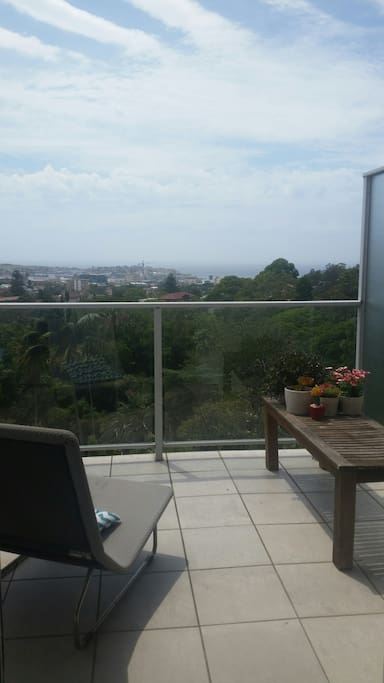 Expansive ocean view
