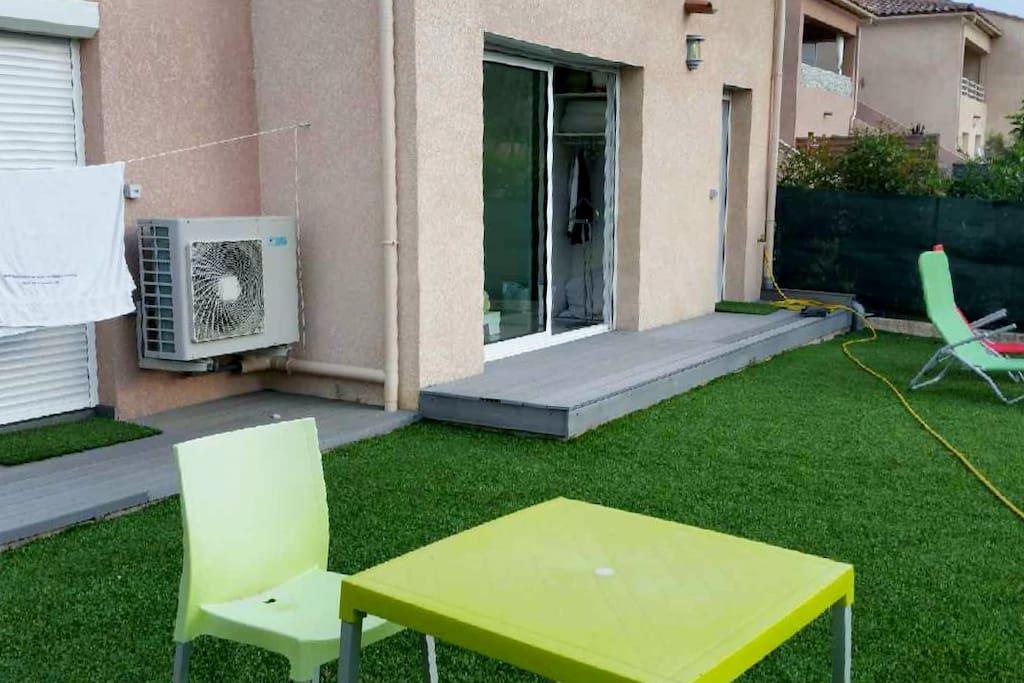 jardin 70 m2