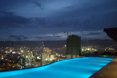 Cebu's only Sky-pool. Studio. Ayala - Apartamento