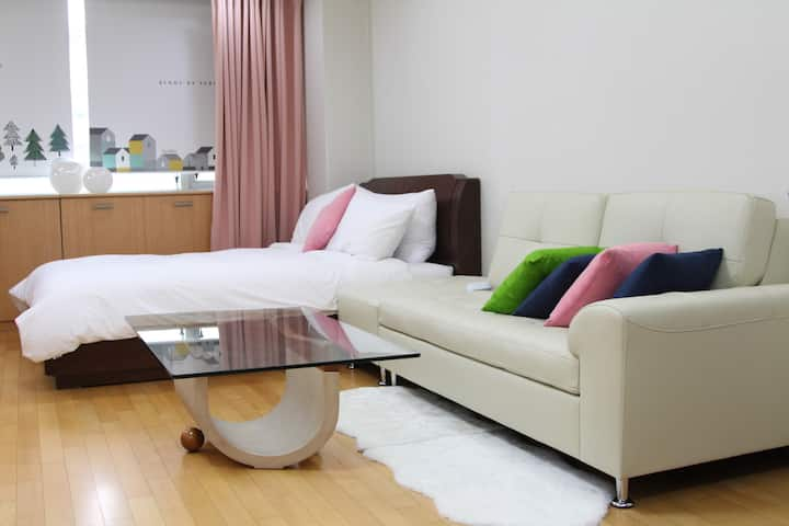4min from Beomgye Station.Spacious and clean house