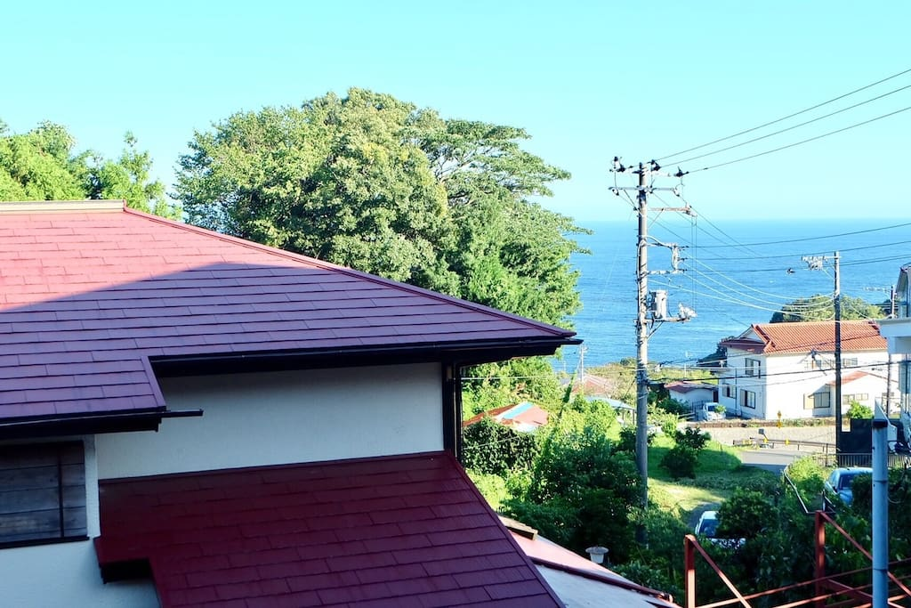 View from my house 部屋からの眺め