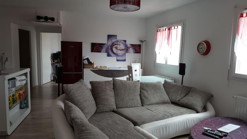 t2 neuf de 49m² - Villenave-d'Ornon - Apto. en complejo residencial