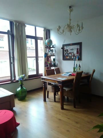 Cosy and sweet apartment in the heart of Antwerp - Antuérpia - Apartamento