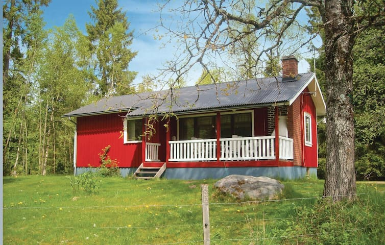 Holiday cottage with 2 bedrooms on 55m² in Ätran