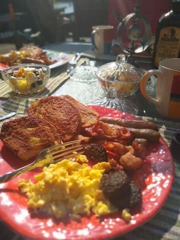 Adelene irish breakfast