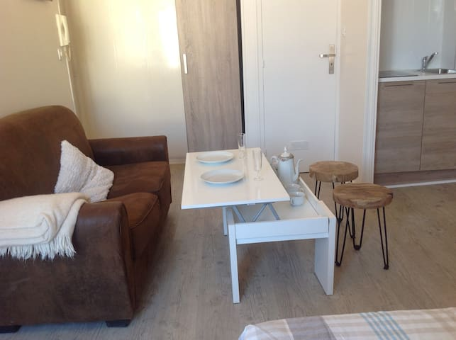 Best money-value for pristine studio in old Dijon! - Dijon - Flat