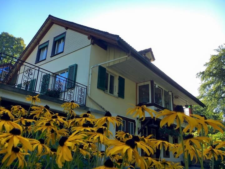Cozy Guest-House near the lake of Thun