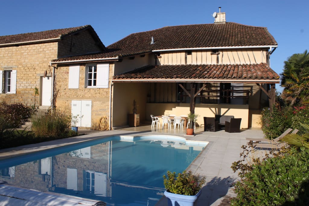 Holiday House 11 Pax Swimming Pool Wifi Villas For Rent In Ayzieu Languedoc Roussillon