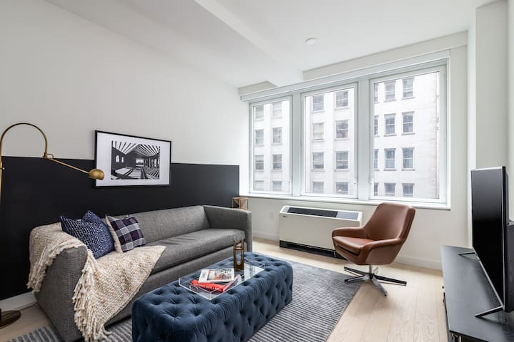 Sonder | Stock Exchange | Gorgeous 1BR + Kitchen