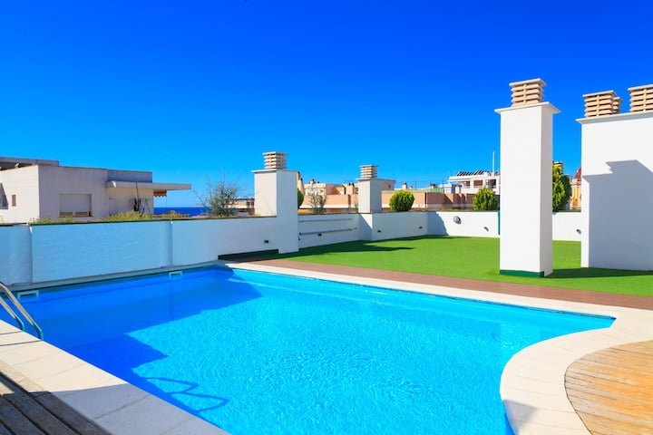 Family Apartment High Standing · 80m Beach · UHC SOL I MAR 298