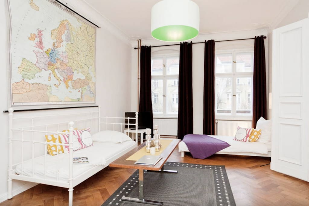 bohemian berlin apartment 6 wohnungen zur miete in berlin berlin deutschland. Black Bedroom Furniture Sets. Home Design Ideas