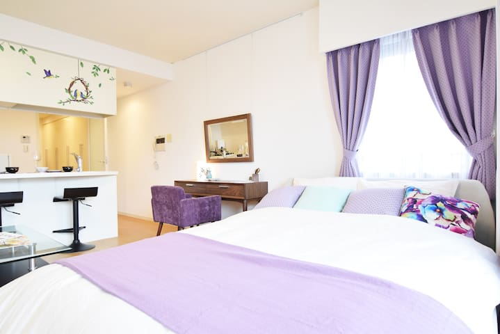 Central Shibuya in High Class APT w/WIFI #8T1 - Shibuya
