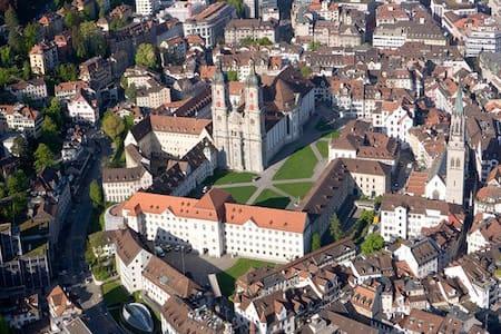 Zentral wohnen in St.Gallen - Saint Gallen
