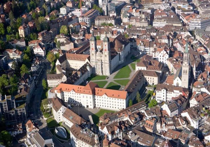 Zentral wohnen in St.Gallen