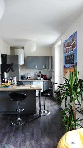 Grand T2, Refait à Neuf - Proche Centre-Ville - Angers - Lägenhet
