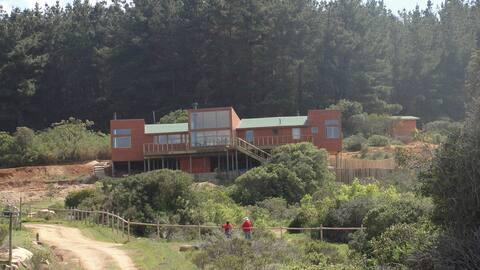 Una casa con vistas en Tunquén