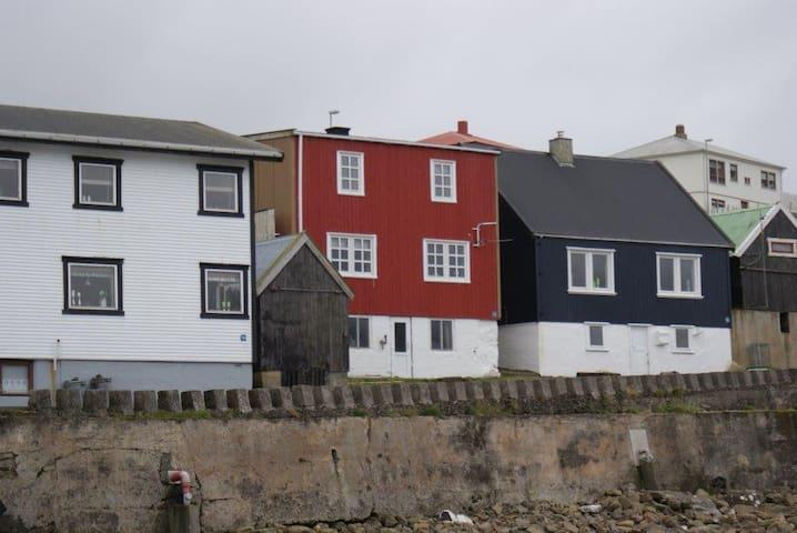 Eget hus, tæt ved havet. Flot udsigt, stærk natur.