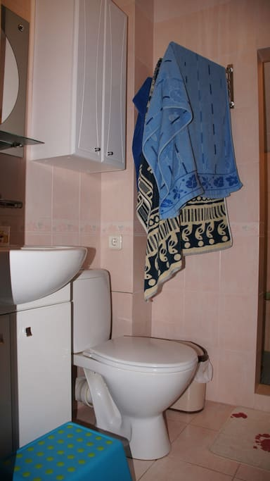 Туалет-ванная 2 этаж