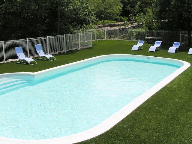 La piscine 6m x 12m x 1,2m