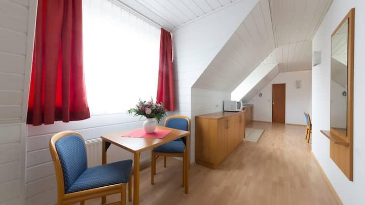 Residenz Südwesthörn, (Norderney), Ferienwohnung Typ B, 45qm, 1 Schlafzimmer, max. 3 Personen