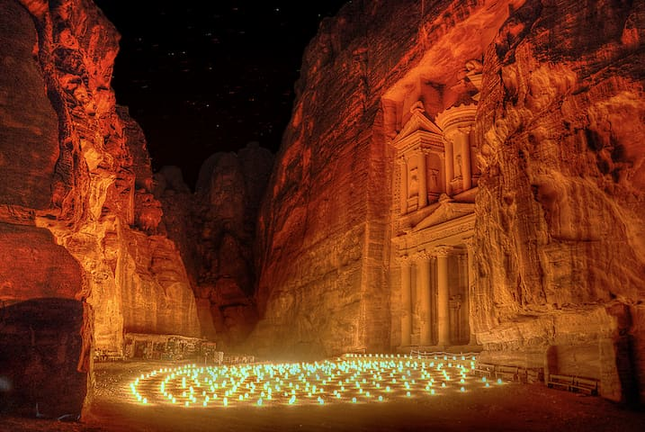 Petra under the stars: camping in Petra