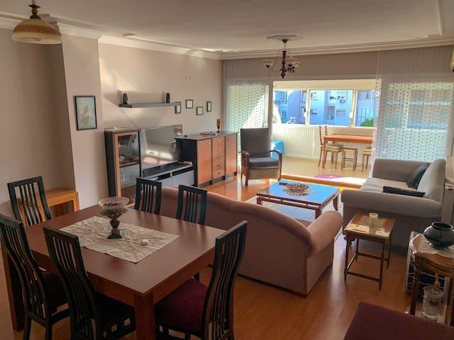 Cosy flat in great district - Keyifli bir daire