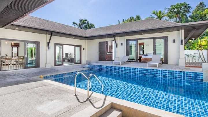 3 Bed Pool Villa Near Phuket's West Coast Beaches