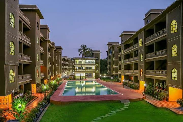 Beautiful 1bhk fully furnished apartment.