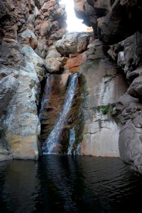 EL YOLO OnE waterfall