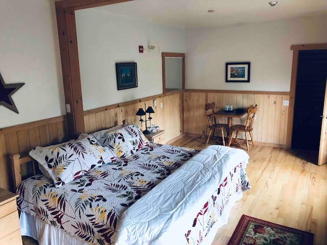 BlueWater Lodge and Retreat Pine Hills King suite