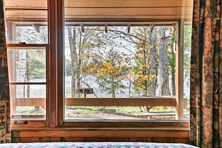 Scenic views of the lake are right outside your window.