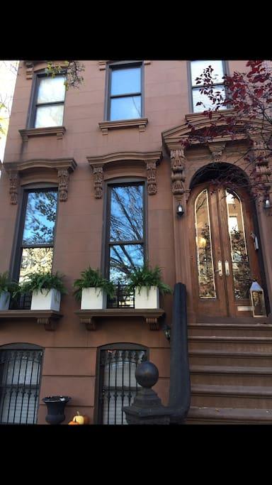 Classic Brooklyn brownstone