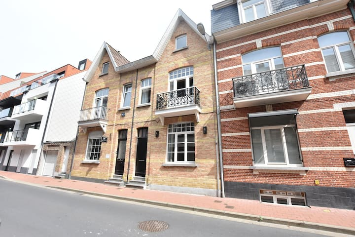 This old town house has been completely renovated