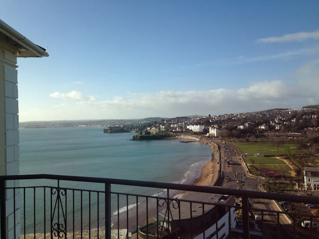 Luxurious Double, Stunning Sea View - Torquay - Lägenhet