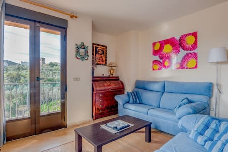 Beautiful Apartment in Herguijuela de la Sierra with Patio