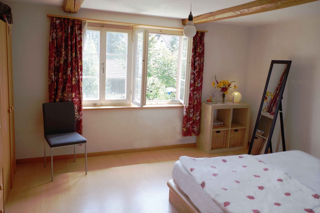 Das Schlafzimmer/ sleeping room 25 m2